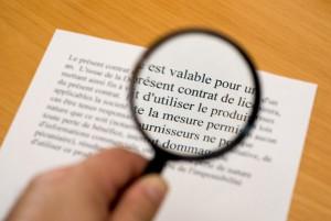 Übersetzung Französisch-Deutsch von Verträgen