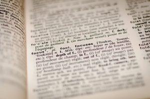 Beispiel einer Übersetzung durch einen Französisch-Übersetzer