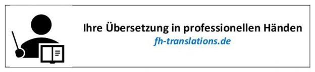 Übersetzung in Auftrag geben