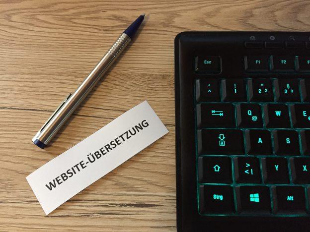 Website-Übersetzung