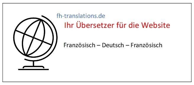 Französisch-Übersetzer für die Website