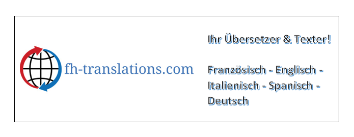 Professioneller Übersetzer und Texter