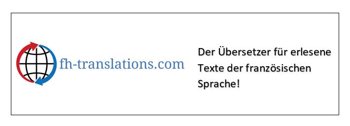 Beispiel einer Französisch-Übersetzung